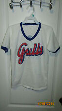 Vintage 80's Salt Lake City Gulls KSL 5 TV Youth L Shirt Pacific Coast Baseball
