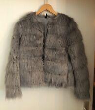 H&M Fake Fur Faux Fur Kunstfell Kunstpelz Jacke