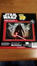 """STAR WARS SUPER 3D PUZZLE 12""""X 18"""" 150 PIECES NEW IN SEALED BOX"""
