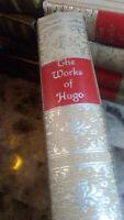 THE WORKS OF VICTOR HUGO - Black's Reader Service - RARE, VINTAGE