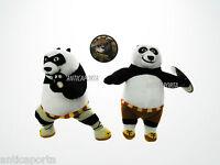 Peluche Kung Fu Panda 3 Dreamworks Originali 21 cm Po  Classico o all' Attacco