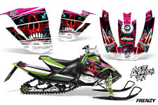 Arctic Cat Sno Pro Race Sled Wrap Snowmobile Decal Graphic Kit 08-11 FRENZY RED