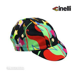 Cinelli Cycling Cap : FULVIA MENDINI 'PINK ANEMONE'