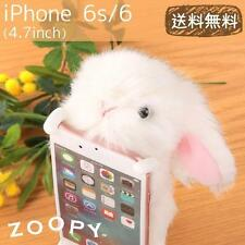 Simasima ZOOPY Animal Plush Case Cover for iPhone 6s / 6 (Bunny / White)