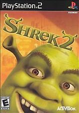 Shrek 2 (Sony PlayStation 2, 2004) Disc only Tested Resurfaced