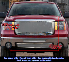 Fits GMC Sierra 1500 New Body Style Mesh Grill Combo 2007-2012