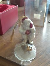 Lenox 2001 Fishing Santa Christmas Ornament 2nd in Series New in Box