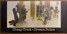 Rare Cheap Trick Dream Police 1979 Record & Tape Promo Post Card