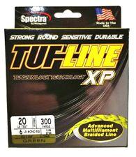 BRAID TUF-LINE XP 20lb green 300yards Spectra advanced multifilament line USA