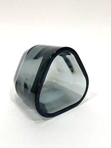 Iittala Finland Tris Smoke Grey Gray Glass Votive Tealight Candle Holder