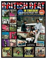 British Beat in Sweden : The Original Vinyls 1957 - 1969, Hardcover by Aulin,...