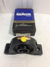 "Sealmaster NF22 Pillow Block Bearing 1-3/8"""