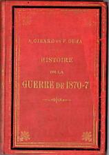 Libro Histoire Guerre de 1870 - 1871 Franco Prussienne Guerra Franco Prussiana