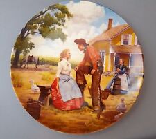"""""""Oh, What a Beautiful Mornin'� Collector's Plate from Oklahoma!"""