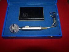 Very rare old Sennheiser/Philips MD405s microphone,mic,microfoon mikrofon