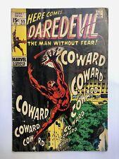 Daredevil #55 Bronze Age Collectible Comic Book 1969 Marvel Comics!