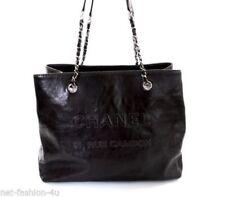 CHANEL Leather Large Handbags