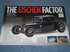 "1929 Ford Model A 5-Window Coupe Hot Rod Article ""The Eischen Factor"" 4-Banger"