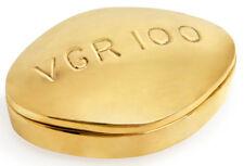 Jonathan Adler - Brass Pill Box - Viagra