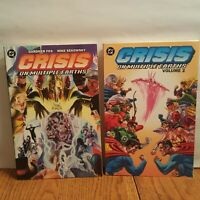 Crisis on Multiple Earths Volume 1 & 2 DC TPB RARE OOP  JSA JLA Superman