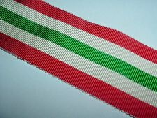 MEDAL RIBBON-OLD COTTON RIBBON FOR THE BRITISH WW2 ITALY STAR MEDAL