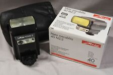 Metz 40 MZ-2 with Nikon 3401 and Contax/Yashica 382 adapter @ LIKE NEW or MINT@