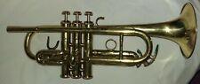 """Cousnon """"Monopole"""" Piccolo Small Bore Trumpet -Key of D- with all Original Parts"""