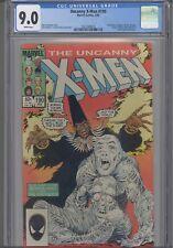 Uncanny X-Men #190 CGC 9.0 1985 Spider-Man, Avengers, Dr Strange App: New Frame