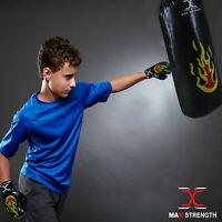 Heavy Duty 1.5ft Kids Boxing Punch Bag Set Children Punching Training Gloves Kit