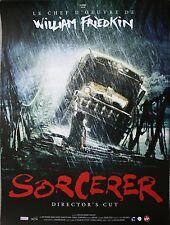 SORCERER Affiche cinéma ROULEE / Rolled Movie poster 53x40 William Friedkin