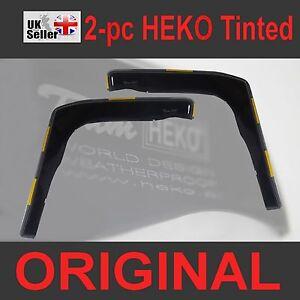 IVECO DAILY MK3 MK4 MK5 2000-2014 2-pc Wind Deflectors HEKO Tinted