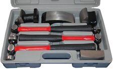 ATD 7pc Heavy Duty Fiberglass Handle Body Hammer and dolly Tool Set #4030