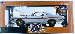 M2 MACHINES 1:24 DETROIT-MUSCLE 1970 DODGE CHALLEMGER R/T HEMI CHASE 300PCS