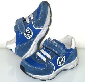 NATURINO Lauflernschuh/Schuh/Klett-Sneaker Echt-Leder+leicht+weich Gr 20 **NEU**