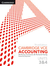 Digital Cambridge VCE Accounting Units 3&4 3rd Edition (Access Code)