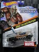HOTWHEELS 1:64 Diecast Character Car - MARVEL #17 - DRAX THE DESTROYER