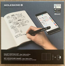 Brand New Sealed Moleskine Smart Writing Set Paper Ellipse Tablet and Pen+ Black
