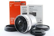 Sony SEL30M35 30mm F/3.5 Aspherical Lens w/Box For And Mount Near Mint Fedex #