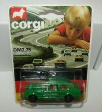 Corgi Juniors No 211 Ford Escort German Variation Green Mint in Blister RARE