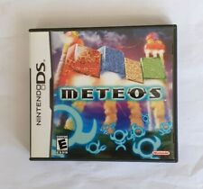 Meteos Nintendo DS With Case And Manual Very good condition