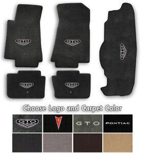 2004-2006 Pontiac GTO 5pc Classic Loop Carpet Floor Mats - Choose Color & Logo