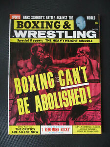 1964 Complete Sports-Boxing & Wrestling-Sep-Boxing Can't Be Abolished-Clay-Ramos