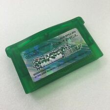 (JP ver) POKEMON Emerald Nintendo GBA Used Cartridge Only MADE IN JAPAN