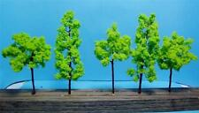 "Multi Scale Use-Model Tree Scenery-7 Lt. Green Trees-3 Pcs 4 3/8""-4 Pcs-3 9/16"""