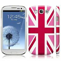 For Samsung Galaxy S3 i9300 Pink Union Jack Flag Hard Back Case Cover