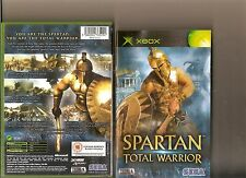 SPARTAN TOTAL WARRIOR XBOX / X BOX