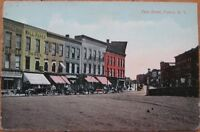 1910 NY Postcard: First Street - Fulton, New York
