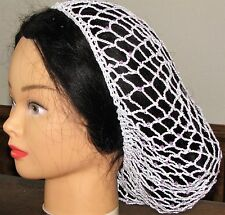 CIVIL WAR, Beaded Hand Made HAIR NET (SNOOD)  100% COTTON Many Color Choices