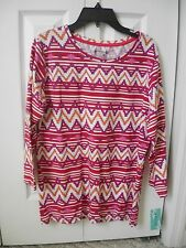 Women's M Aztec print shirt New With Tags