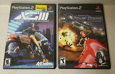 Lot of 2 Sony PlayStation 2 Games (Power Drome, XGIII Extreme G Racing)